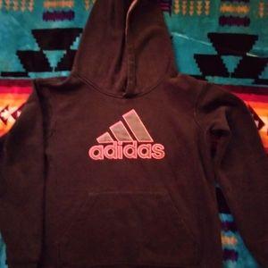 Boys hooded, pullover sweatshirt, size medium
